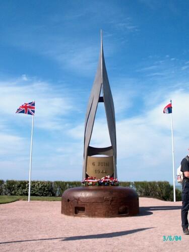"The memorial ""La Flamme"""